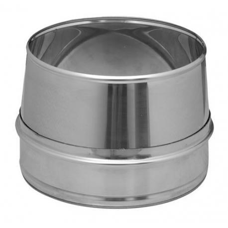 Salída libre tubería chimenea acero inoxidable gamas Aisi 304 y Aisi 316L