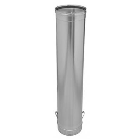 M dulo de descenso tubo chimenea inoxidable 930 mm gamas - Tubo de acero inoxidable para chimeneas ...