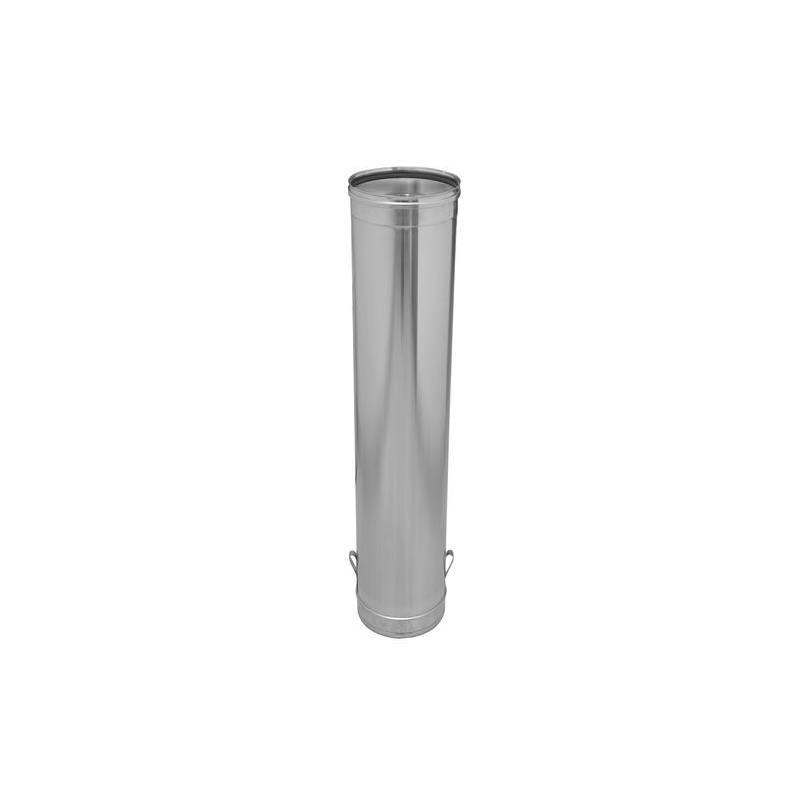 M dulo de descenso tubo chimenea inoxidable 930 mm gamas - Tubos de acero inoxidable para chimeneas ...