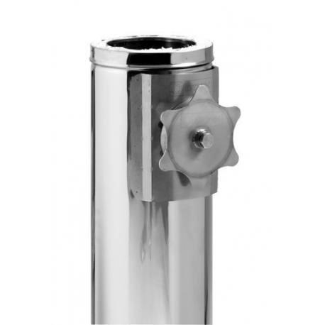 Módulo chimenea comprobación gases y hollín tubería aislada Dinak DP Aisi 304-304