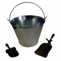 Set de limpieza para chimeneas cubo pala y escoba