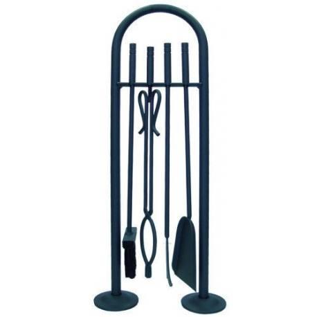 Juego de accesorios para chimenea 4 piezas 70 cm - Accesorios para chimeneas ...