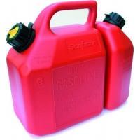 Bidón homologado para hidrocarburos con depósito dual 6 L + 2,5 L