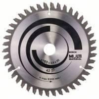 Disco sierra circular Bosch Multimateriales