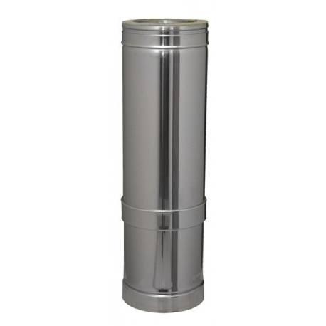 Módulo chimenea extensible 350-530 mm tubería aislada Dinak DWJ Aisi 316L-304