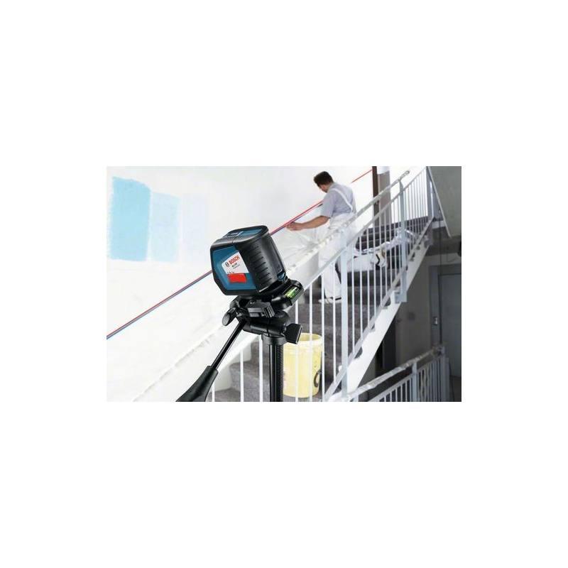 Nivel l ser bosch gll 2 50 autonivelante maquinaria el ctrica for Nivel laser autonivelante