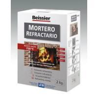 Mortero refractario para barbacoas y chimeneas Beissier 2 Kg