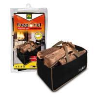 Bolsa para leña Fuego Net 32 x 56 x 32 cm