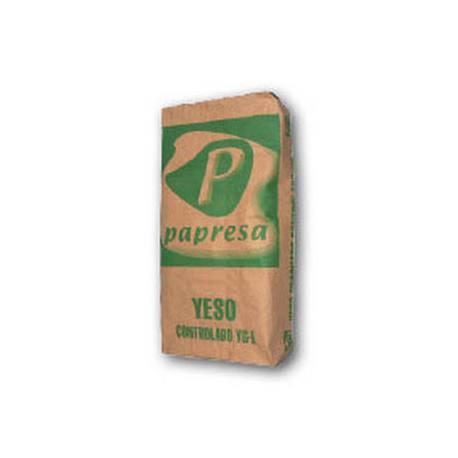 Saco yeso fraguado controlado papresa 20 kg construcci n - Precio saco yeso ...
