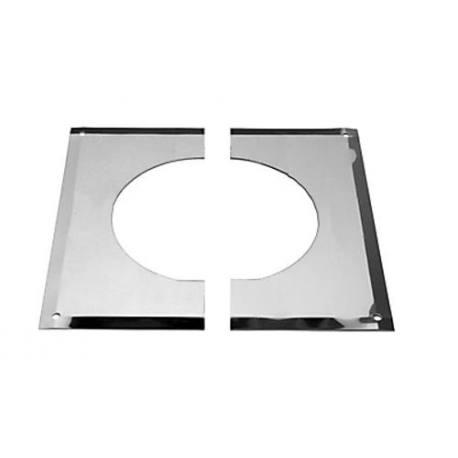 Embellecedor plano interior Dinak DW 133 techos inclinados 0 - 30°
