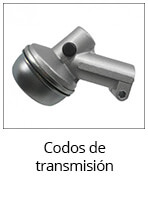 codos de transmisión de desbrozadoras