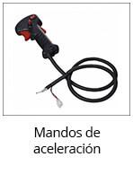 mandos de aceleración de desbrozadoras