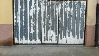 C mo pintar superficies de acero galvanizado - Puerta de acero galvanizado ...